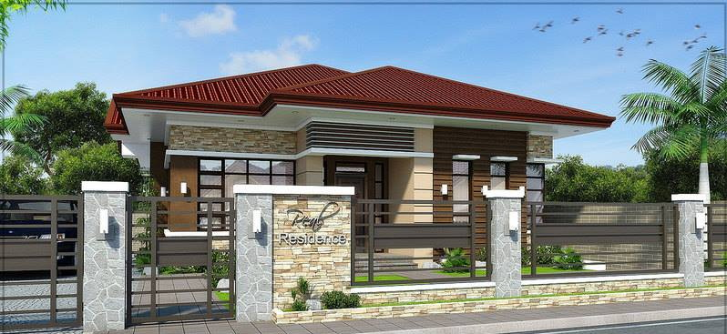 Modern bungalow design concept modern house for Modern bungalow design concept