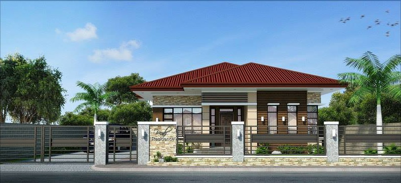 One Storey Bungalow Design And Concept 4 EAE Builders