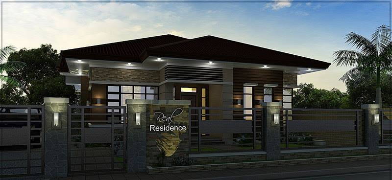 One storey bungalow design and concept 4 eae builders for Bungalow design concept