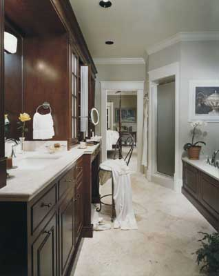 Master bathroom ideas eae builders for Bathroom decor designs