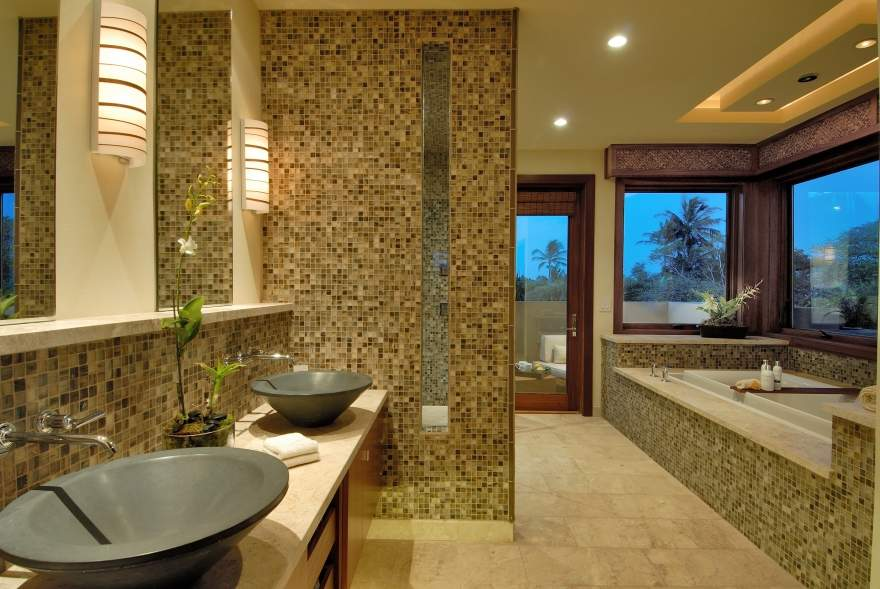 24 Mosaic Bathroom Ideas Designs: Master Bathroom Ideas